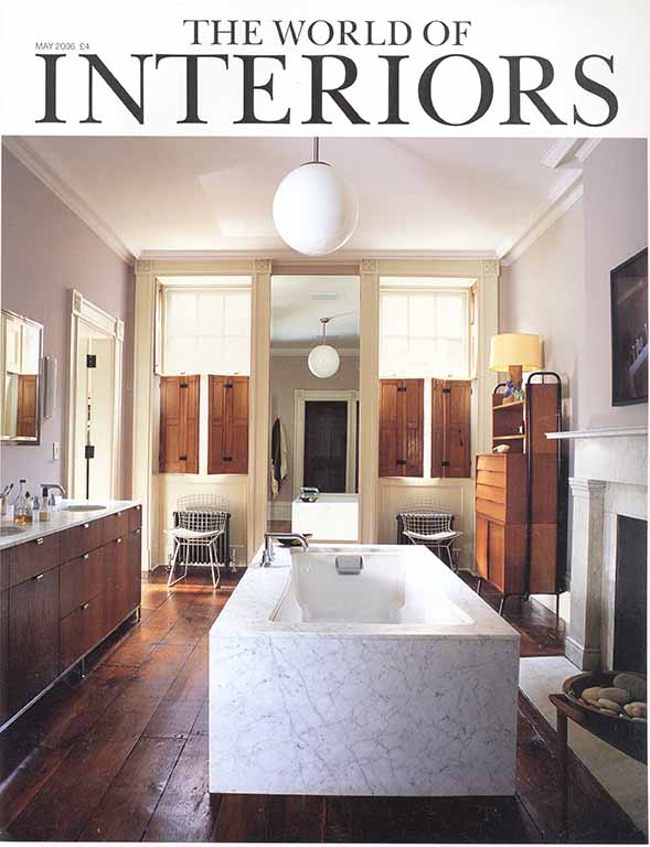 THE WORLD OF INTERIORS Mai2006 couverture.jpg